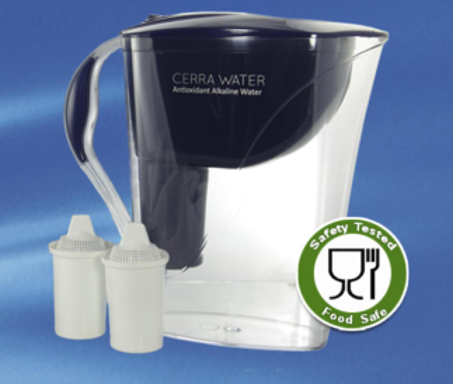 alkaline water filter pitcher